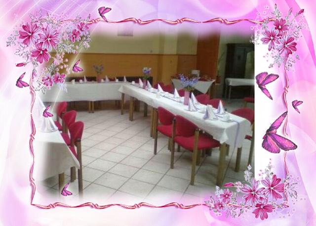 Saal Tische