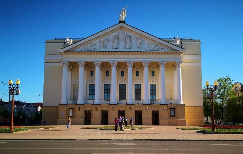 Die Kasaner Oper ist von außen .......