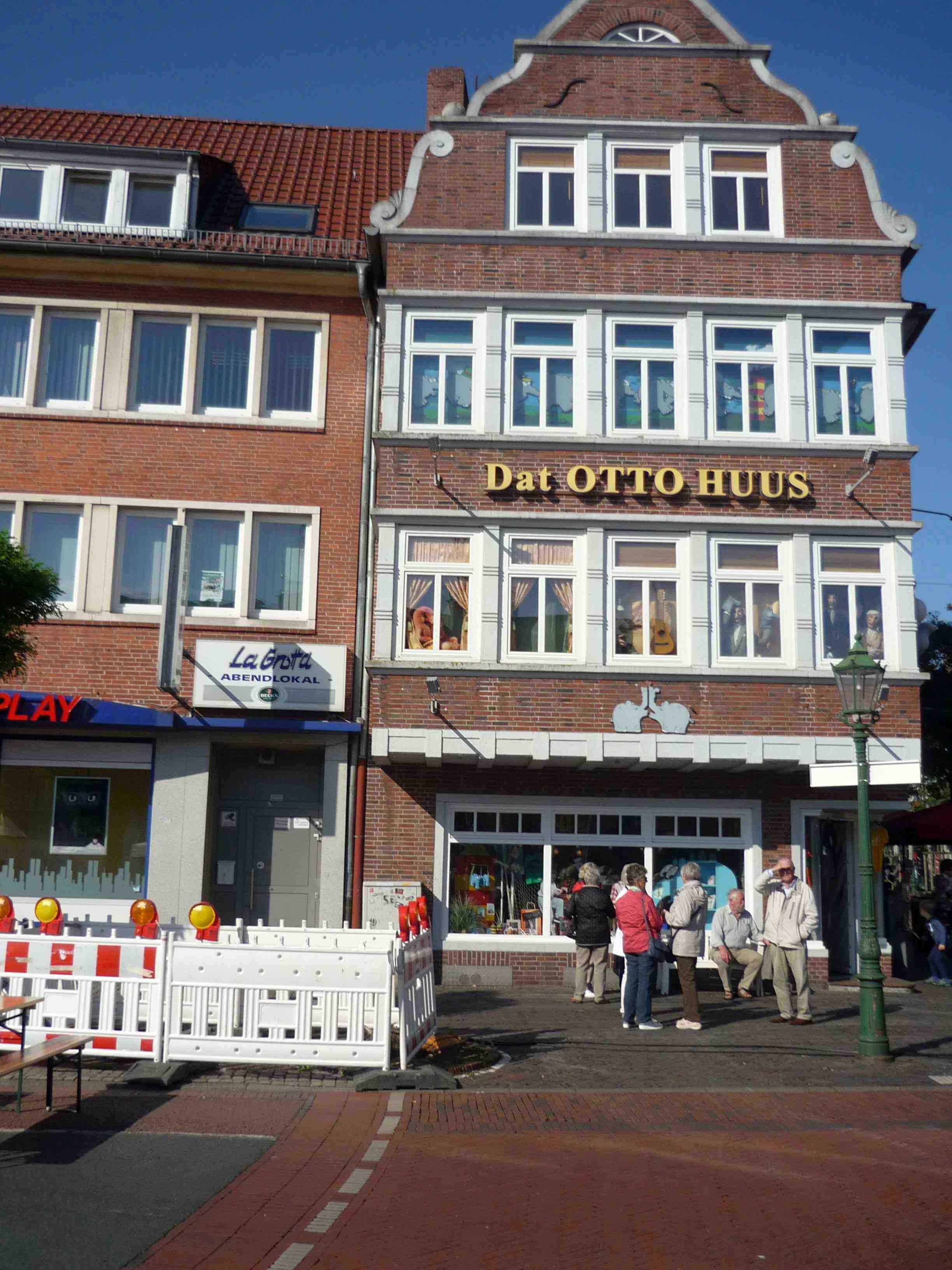 Dat Otto-Huus in Emden