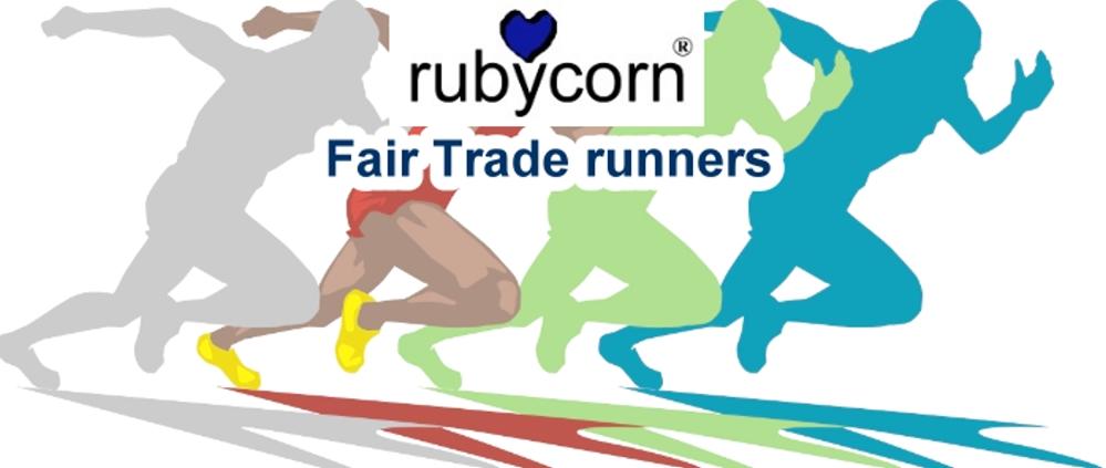 mehr Infos - rubycorn Fair Trade runners