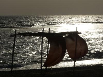 Zoola, am Strand