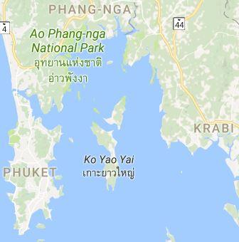 Segelgebiet Andamansee (Phuket bis Krabi)