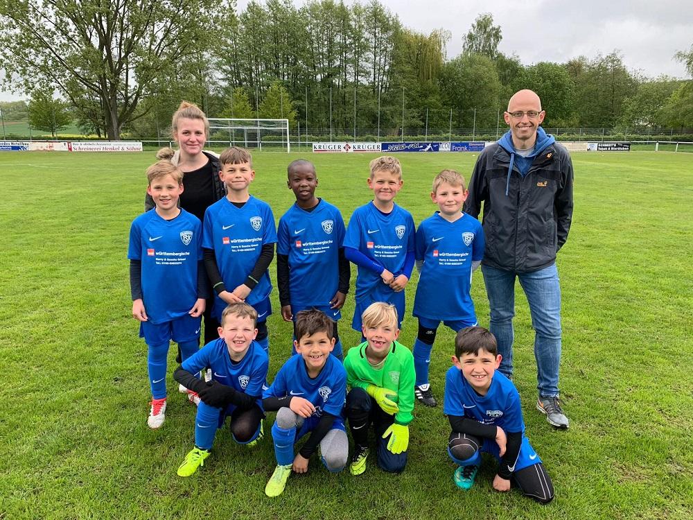Die erfolgreiche F2-Jugend der FSK Vollmarshausen
