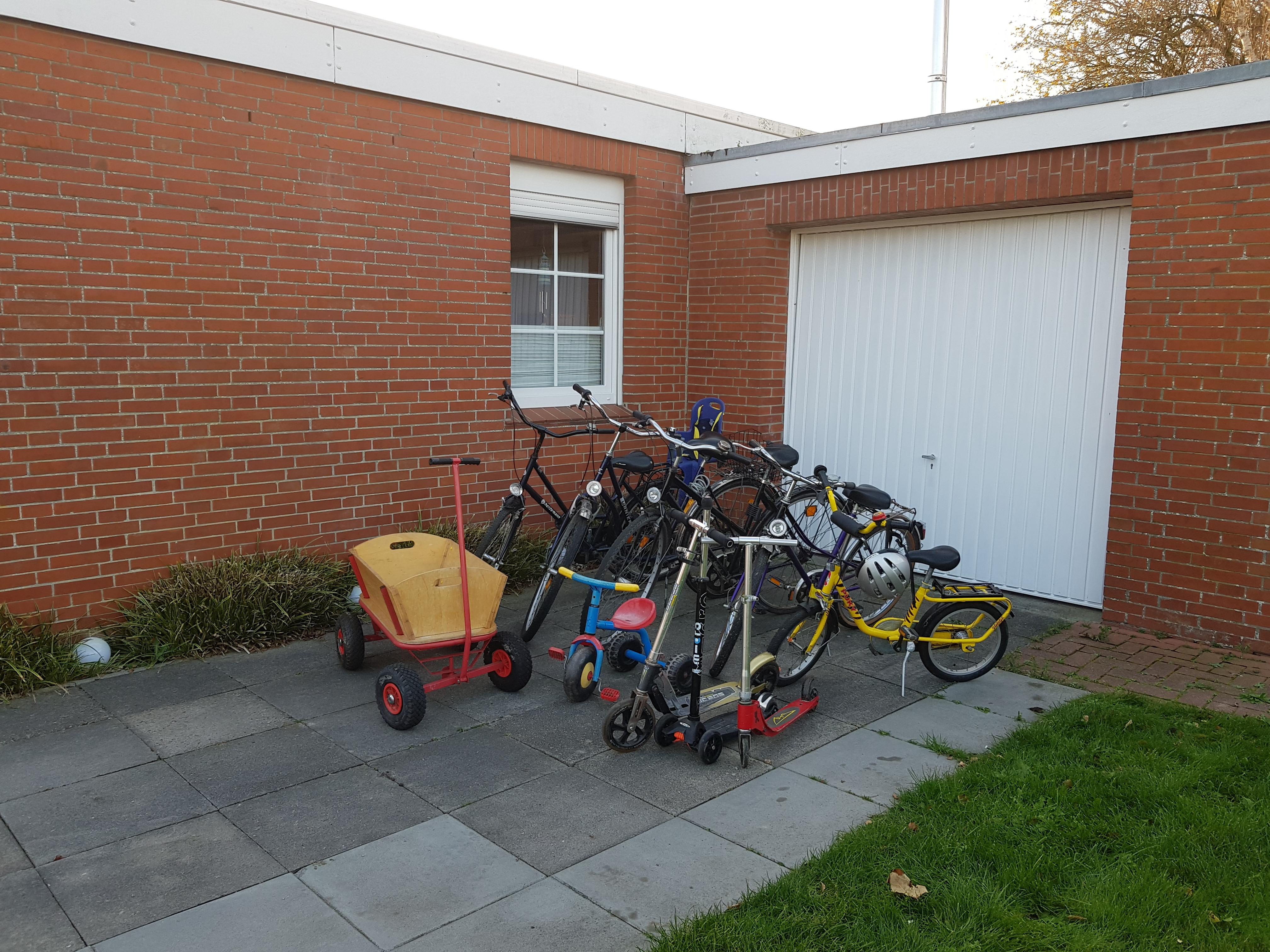 unser Fuhrpark zur kostenlosen Nutzung durch unsere Gäste