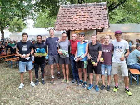 Die Sieger beim Hauptlauf des 22. Schloßberglaufes 2019