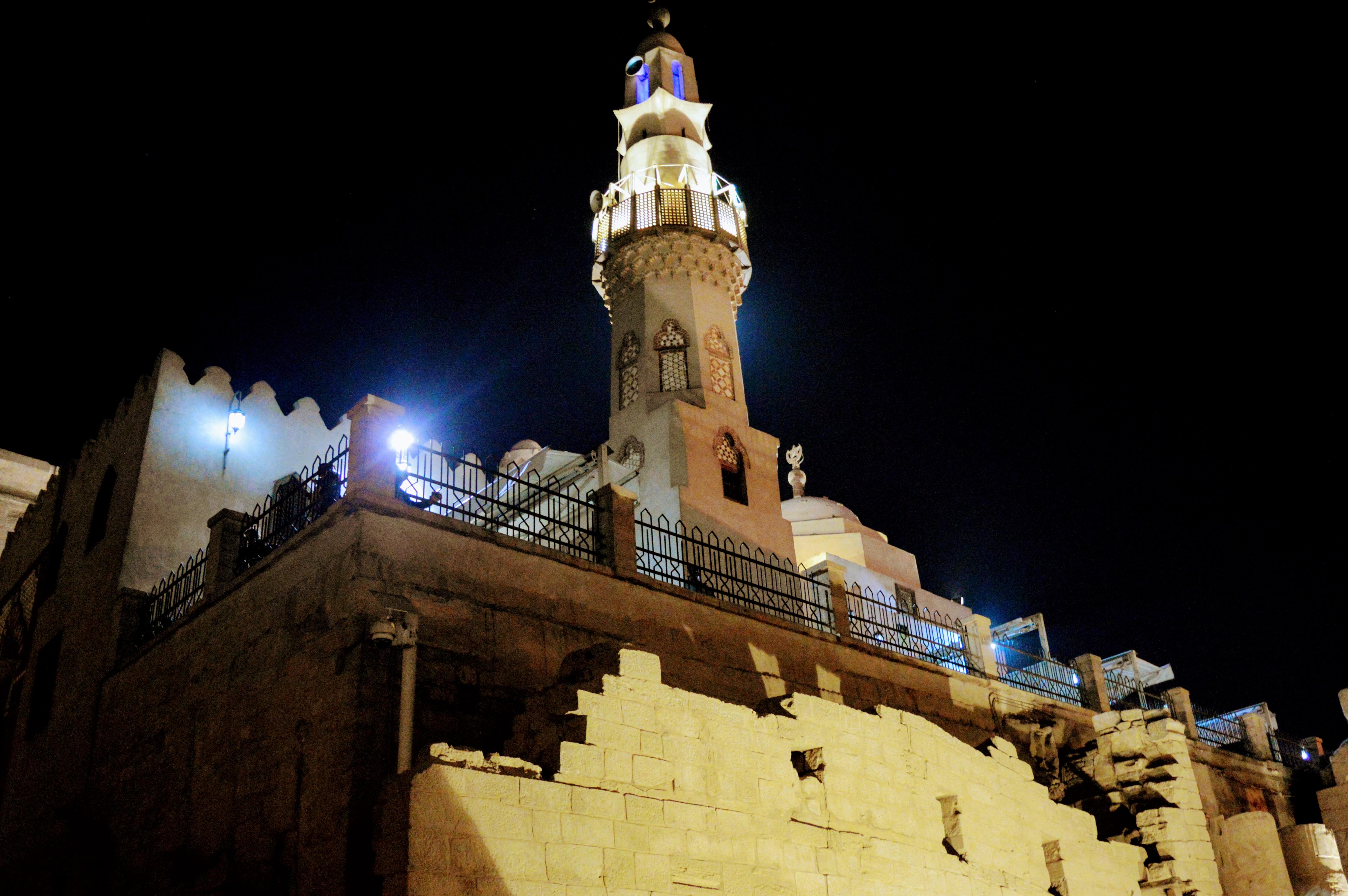 Moschee im Luxor Tempel