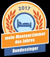 Bundessieger - mein-Monteurzimmer des Jahres 2017