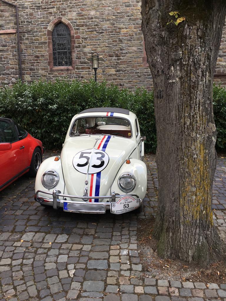 Herbie Replica bei der Oldtimer Classic 2016 in Schmallenberg