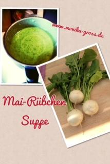 Mai-Rübchen Suppe