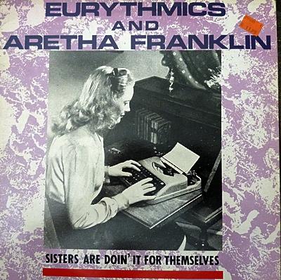 Eurythmics & Aretha Franklin 1985
