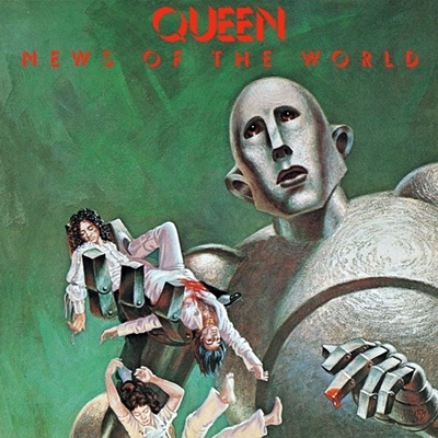 Queen 1977 LP News Of The World