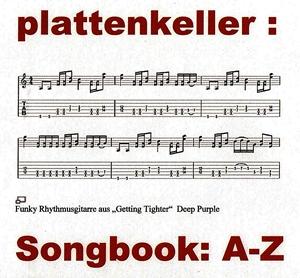 Songbook A-Z Alle gespielten Titel fangen mit dem gleichen Buchstaben an!