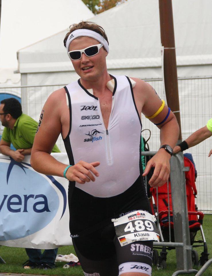 Klaus Ginglseder beim Ironman 70.3 Budapest 2015