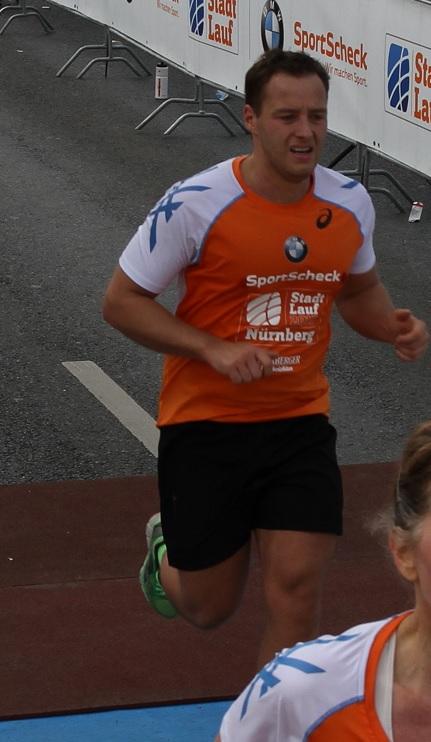 Franz Stahl beim Stadtlauf Nürnberg 2015 (Quelle: BMW)