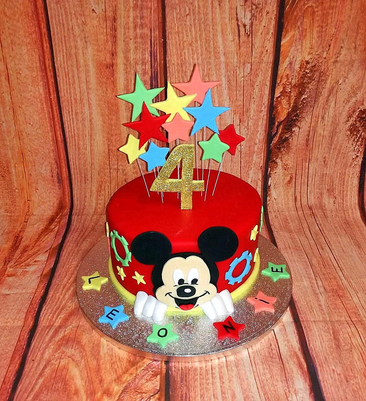 Mickey Mouse - Geburtstagstorte