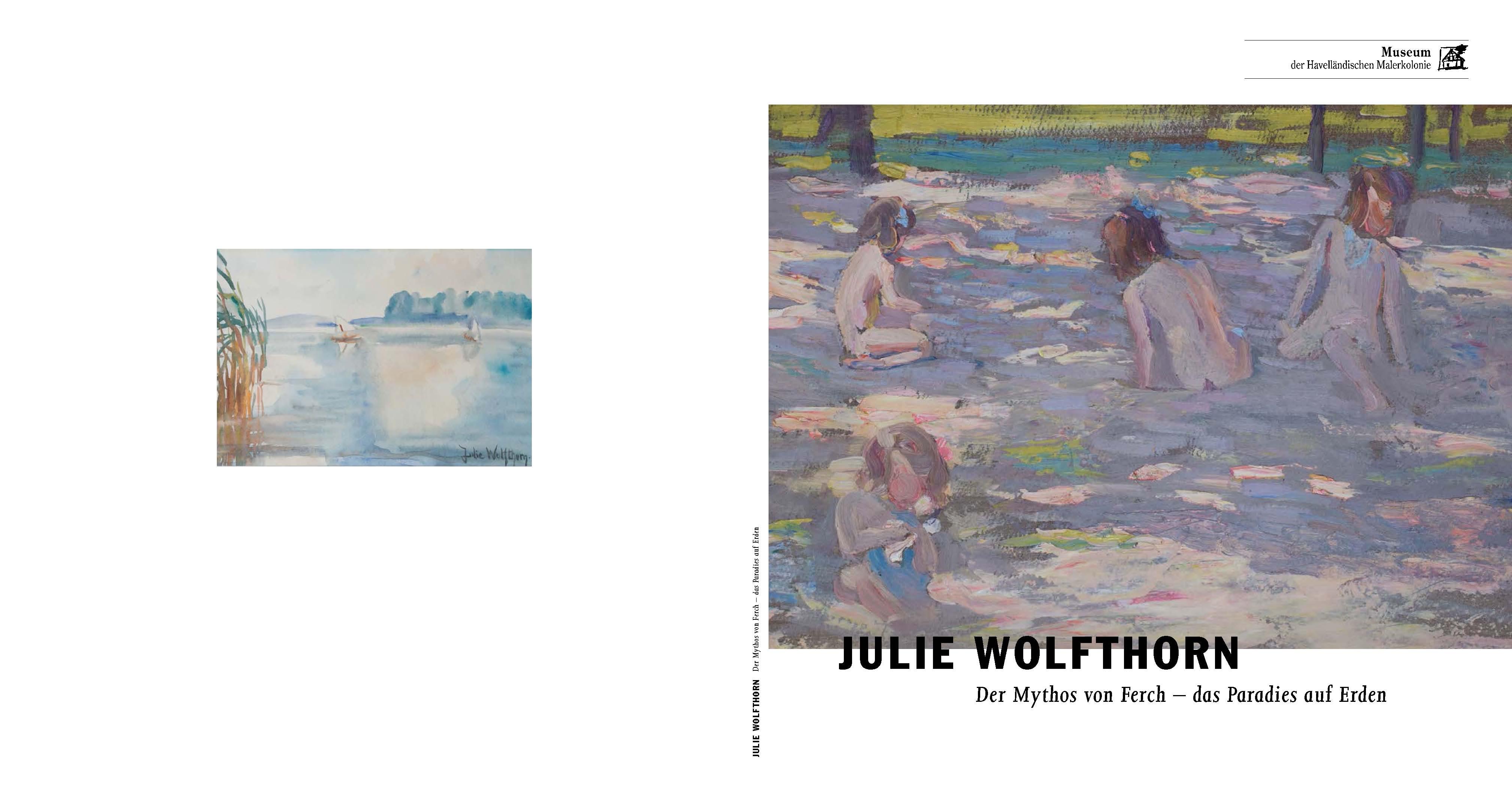 Katalog zur Ausstellung in Ferch, 2016