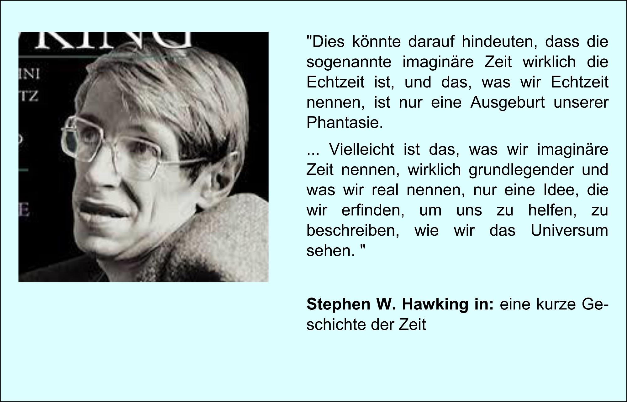 Stephen W. Hawking erklärt die Zeit